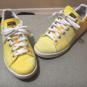 Yellow Adidas Stan Smith Sneakers